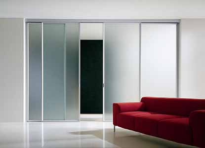 furniture brilliant four rail glass sliding panel room dividers design inspiration with frosted glass in aluminum frames idea 37 brilliant ideas of sliding room dividers that you mus